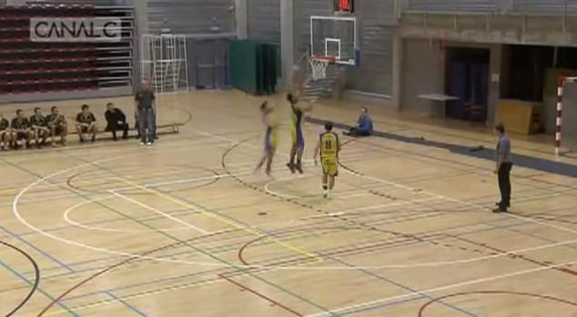 Belgian Player Fourth Attempt on Own Basket