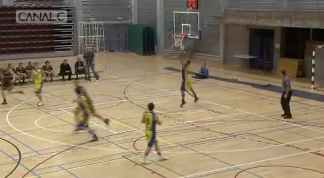 Belgian Player Misses Shot on Own Basket