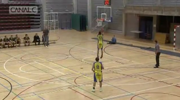Belgian Player Second Attempt on Own Basket