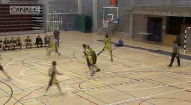 Belgian Player Tries to Score Own Basket