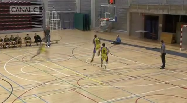 Belgian Players Stop Him from Shooting on Own Basket