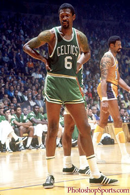 Bill Russell with Tattoos