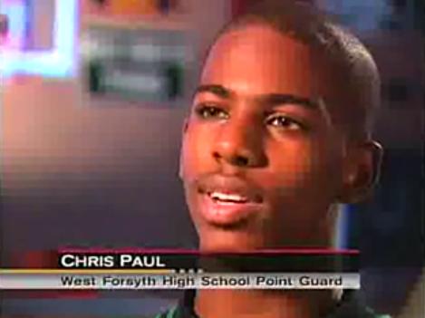 Chris Paul West Forsyth High School