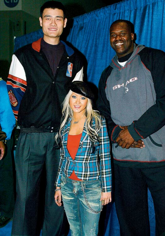 Yao Ming And Shaq Have Some Perspective:...