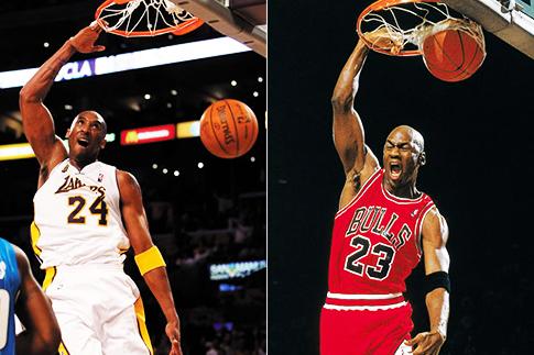 Kobe Bryant Michael Jordan Identical Dunks