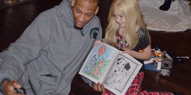 Lacey Holsworth & Adreian Payne Together