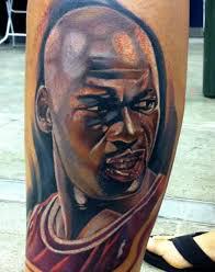 Michael-Jordan-Calf-Tattoo