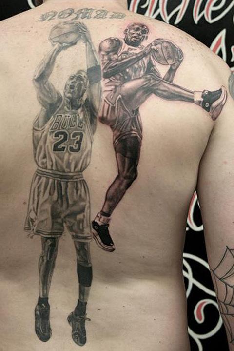Michael Jordan Dennis Rodman Tattoo