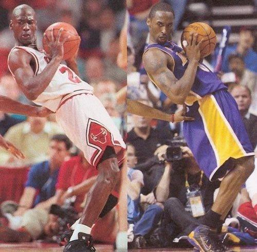 Michael Jordan Kobe Bryant Identical