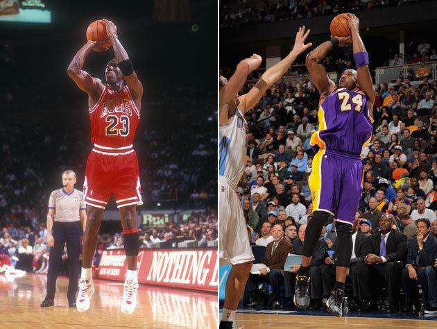 I Always Knew Kobe Based His Game on Michael Jordan's, But