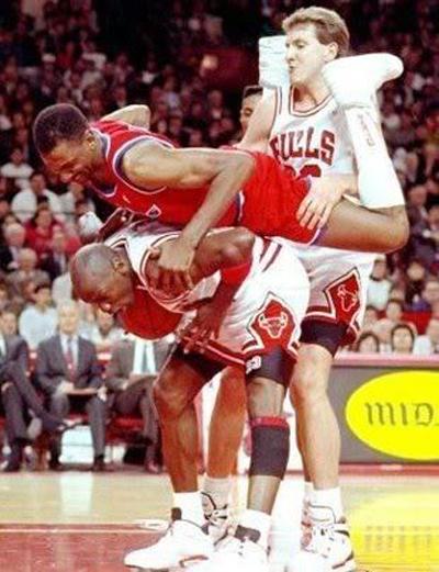 Michael Jordan Three Way