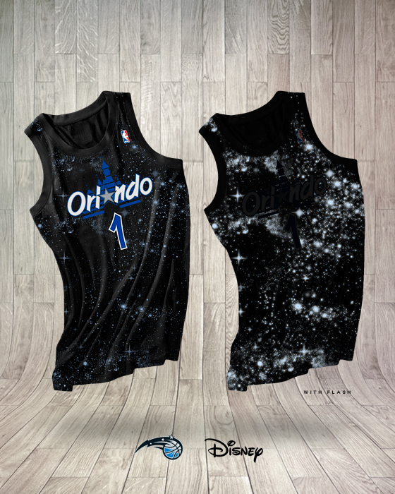 the latest 7a9eb c7ab8 orlando magic jersey disney logo