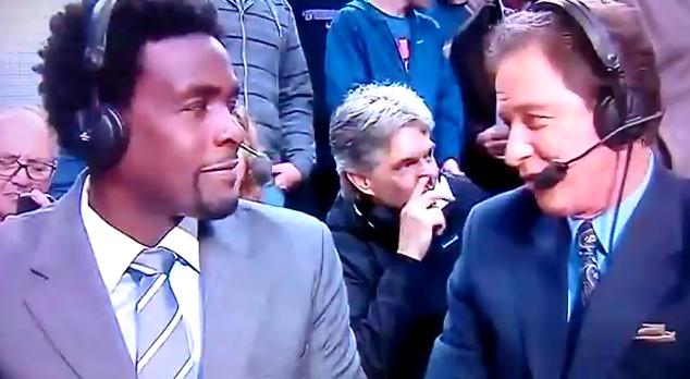 Picking Nose Photobomb NBA