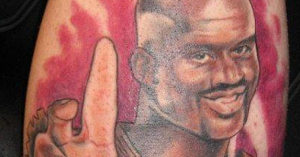 Have some perspective 15 pictures of nba players making for Shaquille o neal tattoos