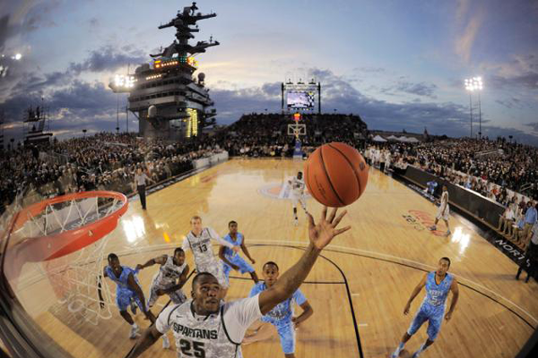 Carrier-Classic-Basketball-Court