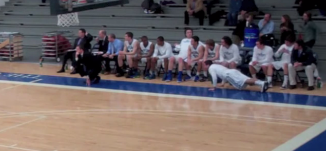 Colby College Bench press Ups