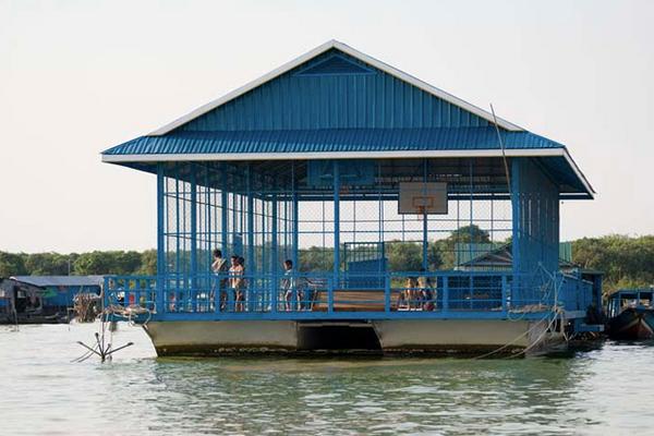 Floating-Basketball-Court