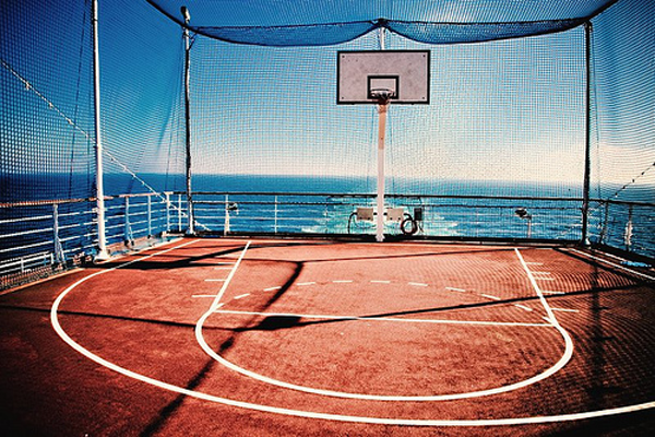 Outdoor Basketball Court Sportworks Field Design Outdoor