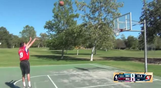 NBA 2K14 in Real Life Jump Shot