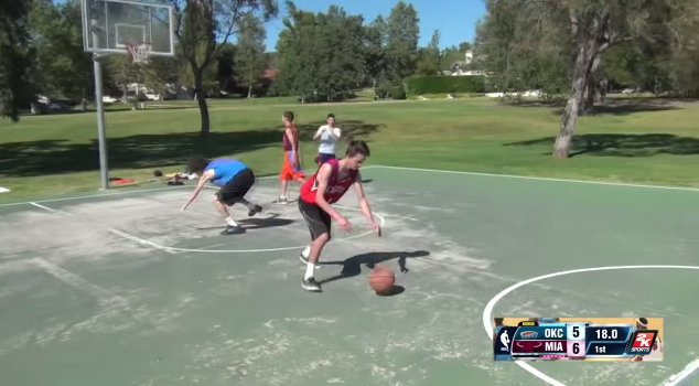 NBA 2K14 in Real Life