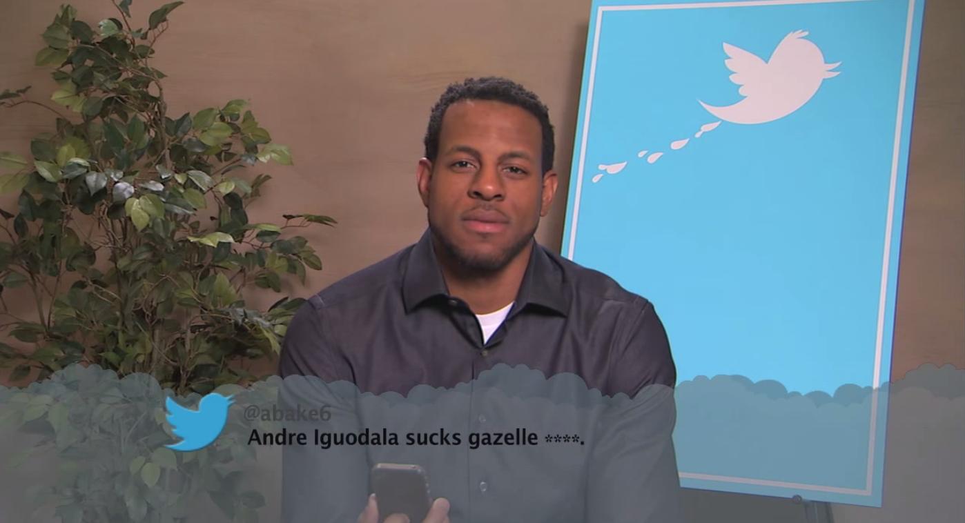 Andrew Iguodala NBA Mean Tweets - Viral Hoops