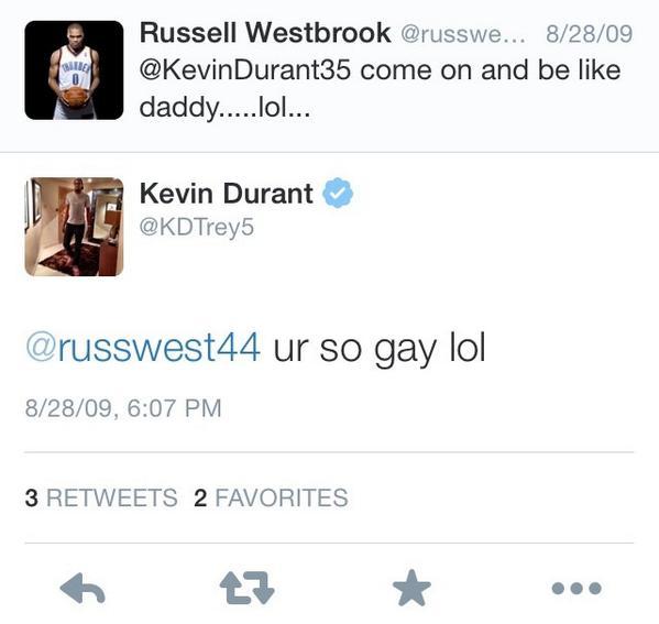 Russell Westbrook KD Twitter