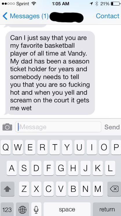 College Basketball Player Getting Girls