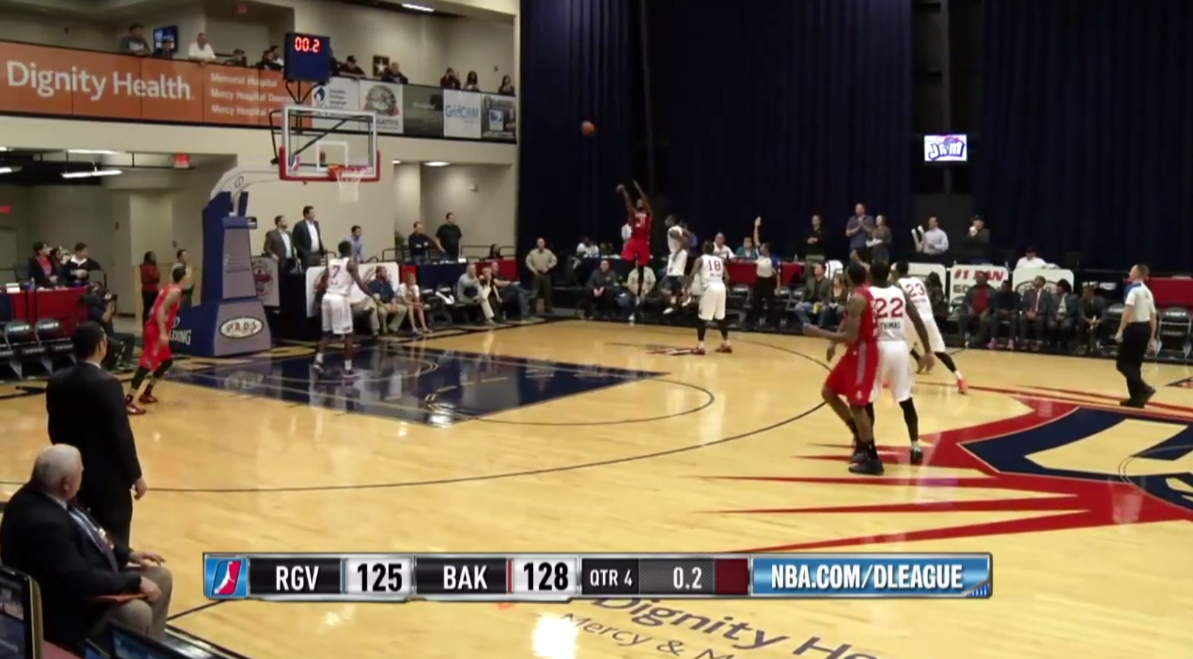 NBA D-League Three Pointers Ending