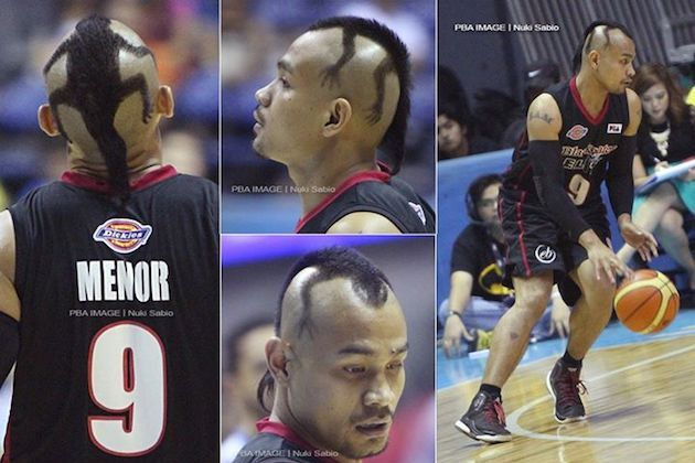 Ogie Menor Haircut