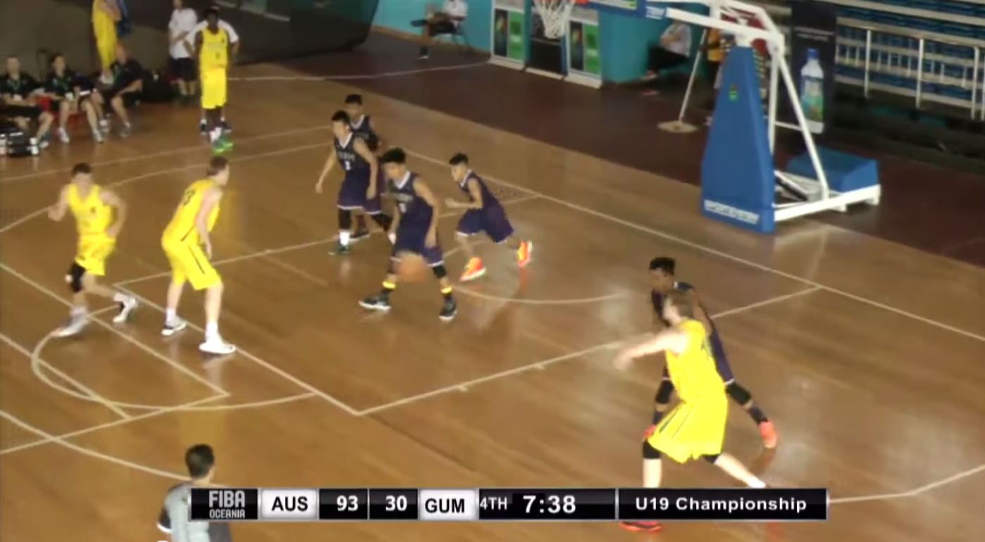 Guam vs Australia Defense