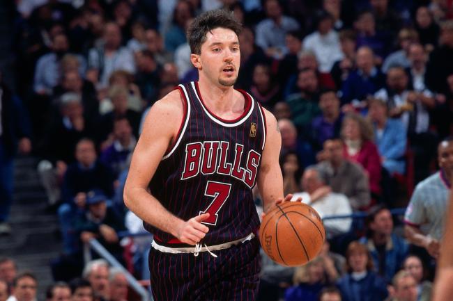 Toni Kukoc Chicago Bulls