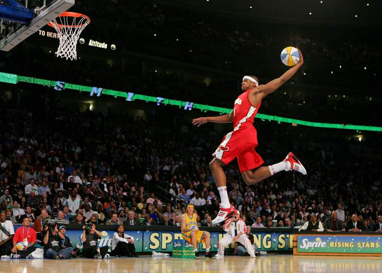 Josh Smith NBA dunk contest