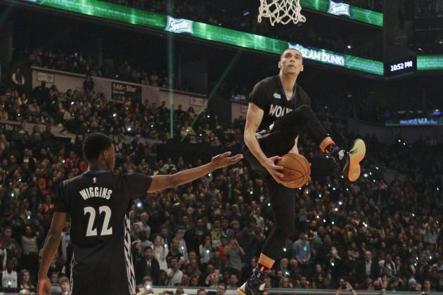 Zach LaVine NBA Dunk Contest