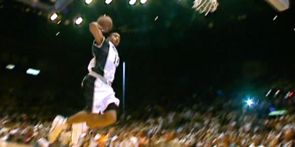 Vince carter free throw line dunk