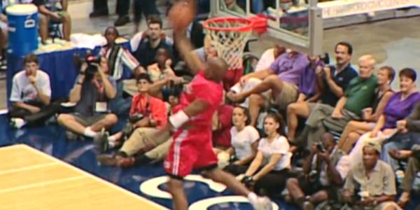 Vince Carter rare dunks